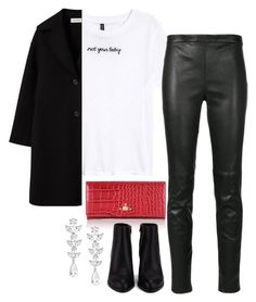"""""""31st"""" by theannaedit ❤ liked on Polyvore featuring Yves Saint Laurent, Vivienne Westwood, Alexander Wang and Saks Fifth Avenue"""
