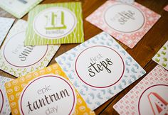 WIN 1 of 20 sets of Tinybeans Mess-Ups and Moments cards. Competition ends: 15th March 2015