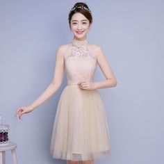 Women Formal Wedding Bridesmaid Short Dress Prom Evening Party Cocktail Gown NEW