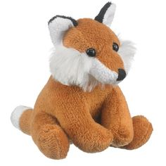 Red Fox Plush (Small of the Wild) at theBIGzoo.com, a family-owned toy store.