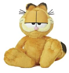 "Garfield Floppy Large 14"" Garfield Cartoon Licensed Plush # 15309 Aurora NWT #Aurora"