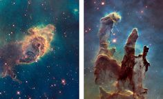 """The Shared DNA between Art and Science – """"""""There was an interesting PhD thesis back many years ago comparing these Hubble images to landscape paintings,"""" Hubble Heritage project manager Max Mutchler said during the online discussion. """"That's how we get our bearings. We think of this the way we might think of a mountain range or an Ansel Adams photo… You can always aestheticize these pictures."""""""""""
