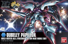 HGBF Qubeley Papillon Model Kit (1/144 Scale)  Build fighter