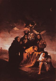 The Conjurers by Francisco Goya