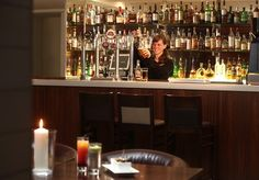 Bisque Brasserie bar at BEST WESTERN PLUS Bruntsfield Hotel