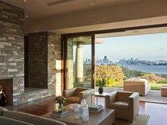 slide-away glass walls