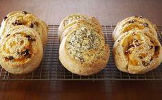 Savoury Spiral Scones Recipe by Anna Olson : Food Network UK