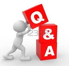 3d gente - hombre, persona con cubos. Preguntas y Respuestas - Q & A photo