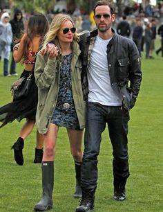 Kate Bosworth and Michael Polish at Coachella 2012
