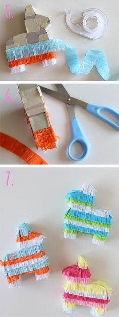 DIY-Pinata-Place-Cards-Tutorial-steps-5-thru-7
