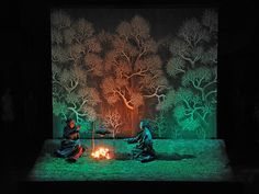 When the Mountain Changed it's Clothing (Carmina Slovenica), set design and light by Klaus Grünberg, 2012