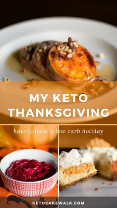 A low carb Thanksgiving feast with all the trimmings! #lowcarb #keto #thanksgiving