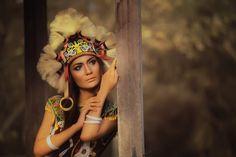 Dayak Girl from Borneo Island