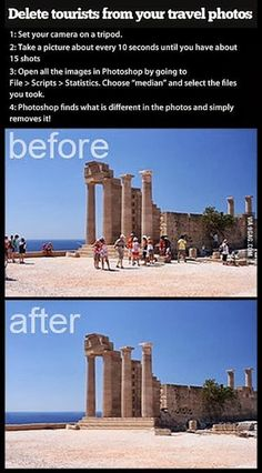 How to remove ALL tourists from your travel shots