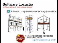 software locação de andaimes Software locação de maquinas e equipamentos