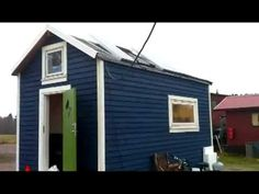 Tiny house in Sweden ▶ Off-grid stugan - YouTube