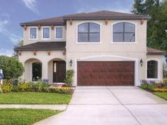 Brand New Mediterranean Style Homes by Inland Homes! 4 bed, 2.5 baths, 2.5 car garage + Bonus room + Loft, 2,722 sq. ft. - Starting at $229,900! North Tampa, FL area www.inlandhomes.com/bristolplace