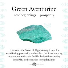 Green Aventurine | Gemstones & Sacred Materials | Tiny Devotions | Mala Beads