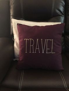 texas pillow | maroon | wine | home decor | rustic | southern
