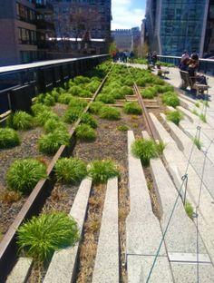 L' High Line, New York.