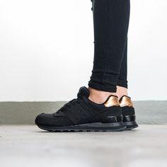 Buty damskie sneakersy New Balance Molten Metal Pack WL574MTC - Sneakerstudio.pl