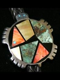 Jimmy Poyer, Navajo Artist~Inlay Turtle