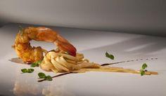 Shrimp and linguini Image Courtesy © D.O.M RestaurantFrom Francesco Tonelli