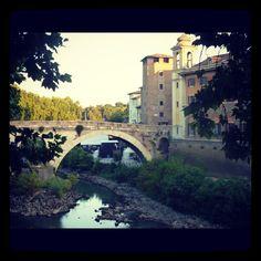 A bridge in Rome