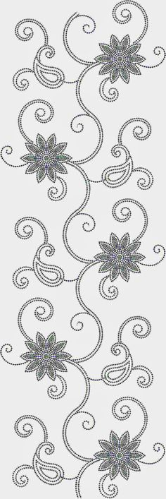 Amazing modern floral embroidery patterns ideas from 33 Modern Floral Embroidery Patterns Ideas Floral Embroidery Patterns, Felt Patterns, Machine Embroidery Patterns, Crewel Embroidery, Hand Embroidery Designs, Beaded Embroidery, Flower Patterns, Beading Patterns, Tambour Beading