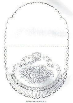 Floral card parchment craft
