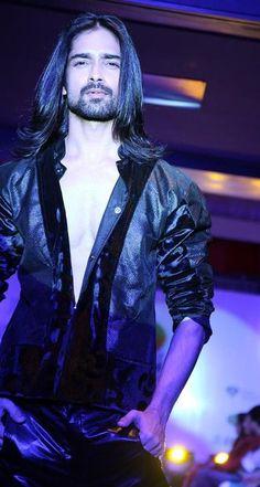 #amitranjan #indianmodel #longhair #beard
