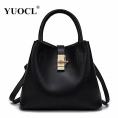 f54d4ec06c YUOCL shoulder crossbody tote bags for women leather luxury handbags women  messenger bags designer famous brands 2017 sac a main