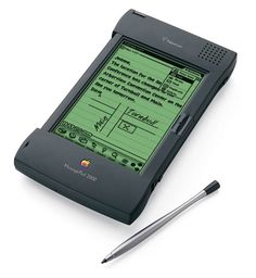 The Newton MessagePad 1993, Apple's first PDA