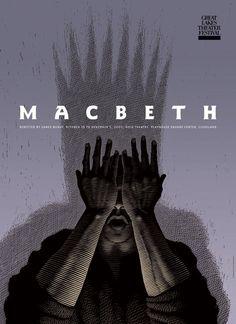 Scott McKowen has designed some amazing play posters. http://www.marlenaagency.com/scott/scott_index.html