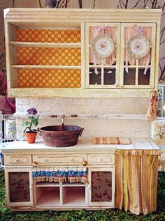 Adore this Kitchen~Potting Shed Cabinet Unit from Maritza!!