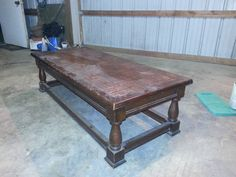 He Transformed An Old Coffee Table Into Unrecognizable Awesomeness (i'm Jealous)