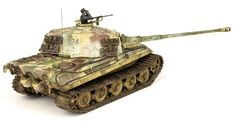 The Modelling News: Andy finishes Meng Models scale King Tiger Henschel Turret with AK shades. Tiger Ii, The Modelling News, Modeling, Detailed Paintings, Tiger Tank, Camo Colors, Model Tanks, Tank Design, Panzer