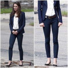"""J BRAND 811 Navy Blue Skinny Jeans J Brand 811 stretch denim skinny jeans in Sapp Blue. -29"""" inseam. -Zip fly with button closure. -Five-pocket style. -98% cotton, 2% Lycra. -Made in the USA. -Excellent condition!  -As worn by Duchess Kate! She loves J Brand Denim :)   NO Trades. Please make all offers through offer button. J Brand Jeans Skinny"""