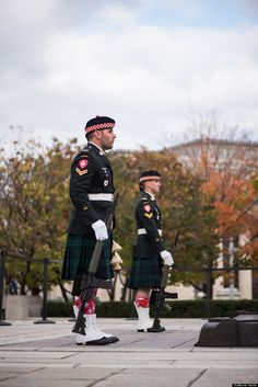 Oct 19, 2014 Corporal Nathan Cirillo and Brendan Stevenson guard the Tomb of the Unknown Soldier in Ottawa. Photograph by Guillaume Haché