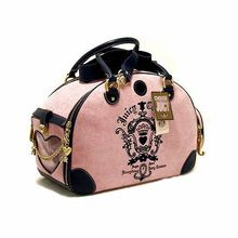 Luxury Pet Carriers Dog Bags Travel Bag For Animals Chihuahua Cat Puppy Portable Carrying Slings Handbags Pink Black