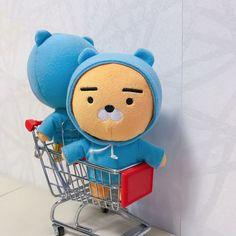 Kawaii Plush, Cute Plush, Plush Animals, Stuffed Animals, Kakao Friends, Images And Words, Presents For Friends, Line Friends, Rilakkuma