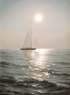 sailing, sailing away