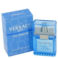 Versace Man by Versace Mini Eau Fraiche .17 oz (Men)