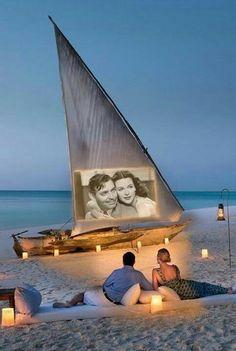 Romance on the beach