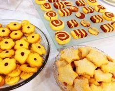 Sequilhos e Biscoitos Amanteigados