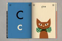 Actualité / L'alphabet des vacances d'une petite fille / étapes: design & culture visuelle