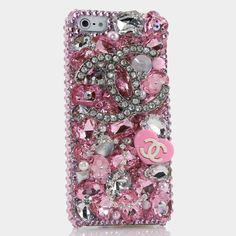 Bling iphone 5 case cover faceplate Luxury 3D Swarovski by Bxbe