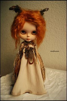 blythe doll diorama | OOAK Custom Blythe Doll ~ by Melacacia ~ Alpaca Rerooted Art Doll