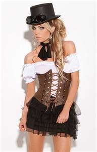 ...steampunk fashion... http://www.designyourownperfume.co.uk  ☀ ☀ I give 1 FREE HOSTESS APRON EVERY MONTH ☀ ☀ CLICK here for details==> www.TrophyWifeAprons.com