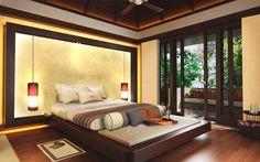 Luxury resort for awakening your senses. I mainly just like the window.